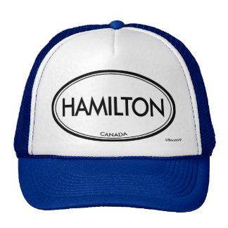 Hamilton Canadá Gorras