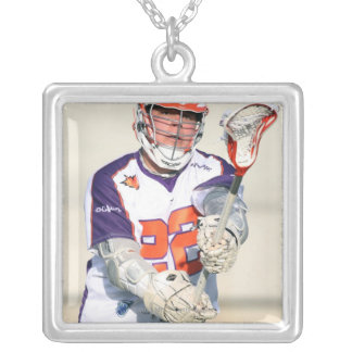 HAMILTON,CANADA - JULY1:  Cody Jamieson #22 3 Silver Plated Necklace