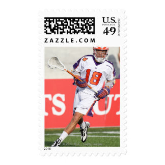 HAMILTON,CANADA - JULY1:  Jarrett Davis #18 3 Postage Stamp