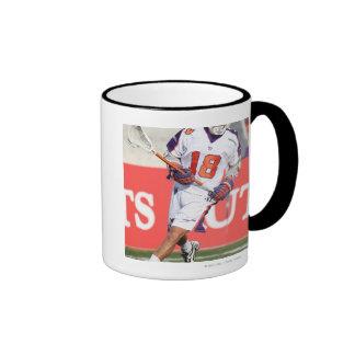 HAMILTON,CANADA - JULY1:  Jarrett Davis #18 3 Ringer Mug