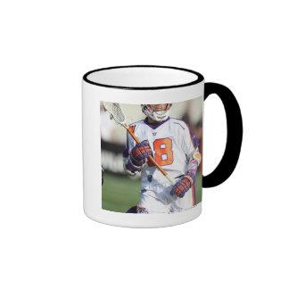 HAMILTON,CANADA - JULY1:  Jarrett Davis #18 4 Ringer Mug