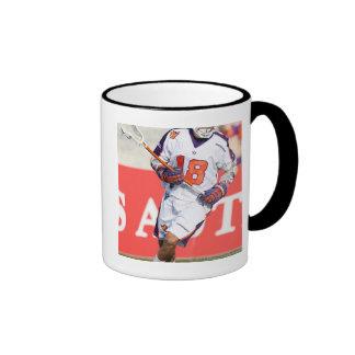 HAMILTON,CANADA - JULY1:  Jarrett Davis #18 Ringer Mug