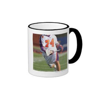 HAMILTON,CANADA - JULY1:  Jeremy Thompson #74 Ringer Coffee Mug