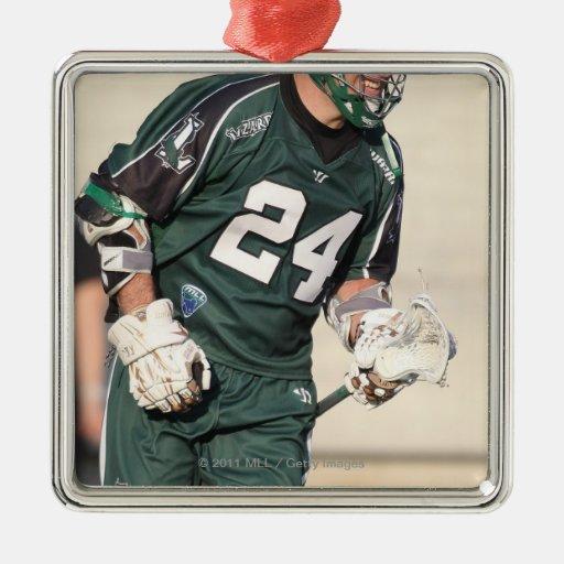HAMILTON,CANADA - JULY1:  John Grant Jr. #24 Christmas Tree Ornament