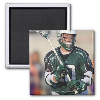 HAMILTON,CANADA - JULY1:  Matt Danowski #40 2 Inch Square Magnet