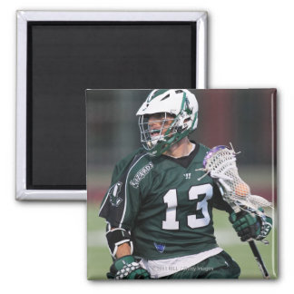 HAMILTON,CANADA - JULY1:  Stephen Berger #13 2 Inch Square Magnet