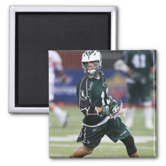 HAMILTON, CANADA - JULY1:  Stephen Berger #13 2 Inch Square Magnet