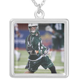 HAMILTON, CANADA - JULY1:  Stephen Berger #13 Silver Plated Necklace