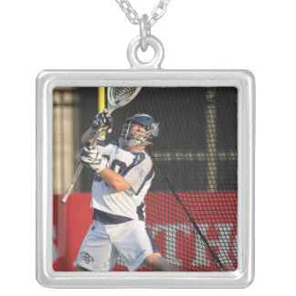 HAMILTON,CANADA - JULY 16:  Brian Phipps #30 Silver Plated Necklace