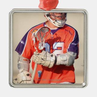 HAMILTON,CANADA - JULY 16:  Cody Jamieson #22 2 Square Metal Christmas Ornament