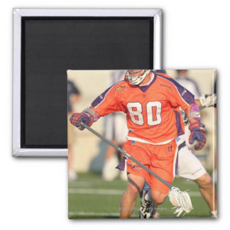 HAMILTON,CANADA - JULY 16:  Donny Moss #80 2 2 Inch Square Magnet
