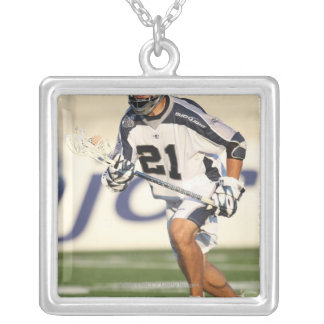 HAMILTON,CANADA - JULY 16:  Jeff Reynolds #21 Silver Plated Necklace