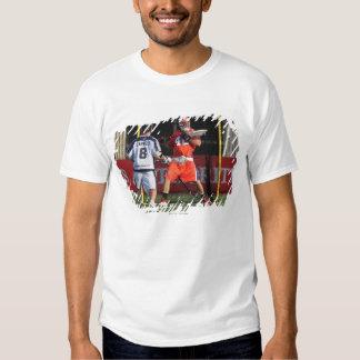 HAMILTON,CANADA - JULY 16:  Scott Rodgers #42 3 T-shirt