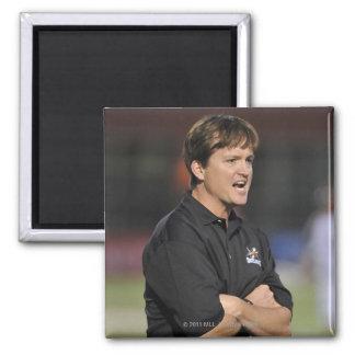 HAMILTON, CANADA - JUNE 18:  Head Coach Tom 2 Inch Square Magnet