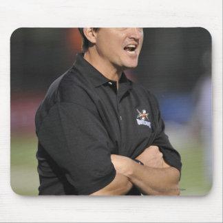 HAMILTON, CANADA - JUNE 18:  Head Coach Tom Mouse Pad