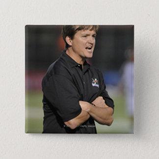 HAMILTON, CANADA - JUNE 18:  Head Coach Tom Pinback Button