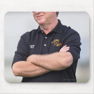 HAMILTON, CANADA - JUNE 25: Head coach B.J. Mouse Pad