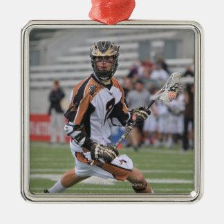 HAMILTON, CANADA - JUNE 25: Ned Crotty #2 4 Metal Ornament