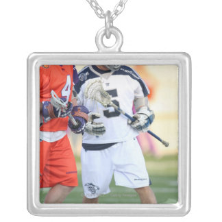 HAMILTON, CANADA - MAY 19:  Alex Smith #5 2 Silver Plated Necklace
