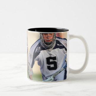 HAMILTON, CANADA - MAY 19:  Alex Smith #5 3 Two-Tone Coffee Mug