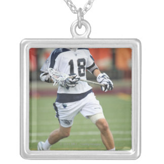 HAMILTON, CANADA - MAY 19:  Ben Hunt #18 2 Silver Plated Necklace