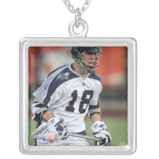 HAMILTON, CANADA - MAY 19:  Ben Hunt #18 3 Silver Plated Necklace