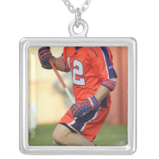HAMILTON, CANADA - MAY 19:  Brian Christopher Silver Plated Necklace