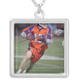 HAMILTON, CANADA - MAY 19:  Brodie Merrill #17 2 Silver Plated Necklace