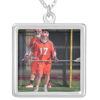 HAMILTON, CANADA - MAY 19:  Brodie Merrill #17 3 Silver Plated Necklace