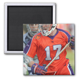 HAMILTON, CANADA - MAY 19:  Brodie Merrill #17 4 2 Inch Square Magnet