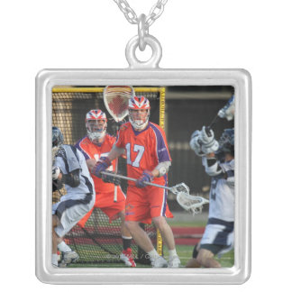 HAMILTON, CANADA - MAY 19:  Brodie Merrill #17 5 Silver Plated Necklace
