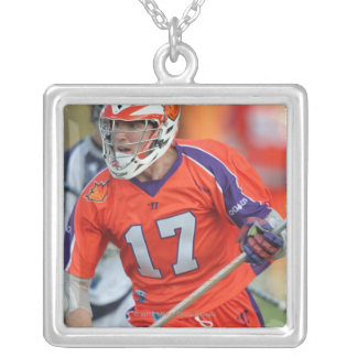 HAMILTON, CANADA - MAY 19:  Brodie Merrill #17 6 Silver Plated Necklace