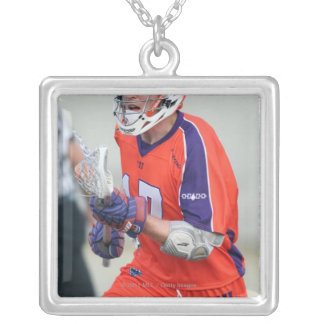 HAMILTON, CANADA - MAY 19:  Brodie Merrill #17 Silver Plated Necklace