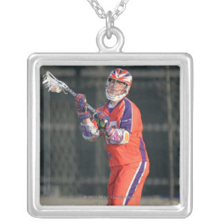HAMILTON, CANADA - MAY 19:  G. Billings #13 Silver Plated Necklace