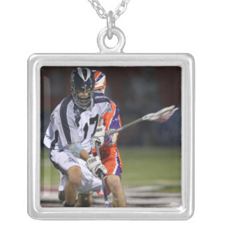 HAMILTON, CANADA - MAY 19:  Jake Deane #17 Silver Plated Necklace