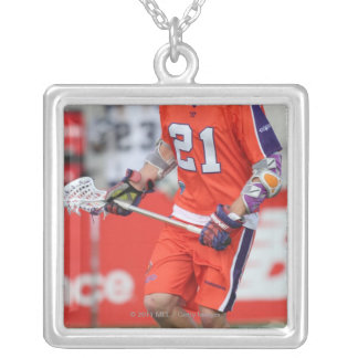 HAMILTON, CANADA - MAY 19:  Kevin Crowley #21 Silver Plated Necklace