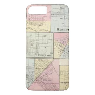 Hamilton, Cartago, Bushnell, Lincoln y LaHarpe Funda iPhone 7 Plus