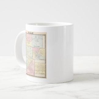 Hamilton, Cartago, Bushnell, Lincoln y LaHarpe Taza De Café Grande