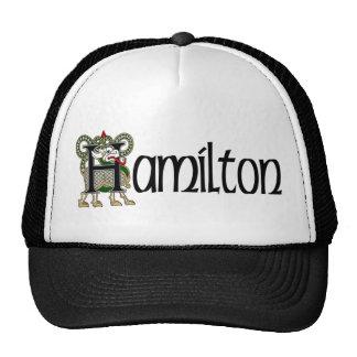 Hamilton Celtic Dragon Cap Hats