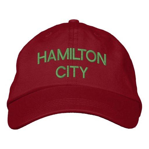 Hamilton City Cap