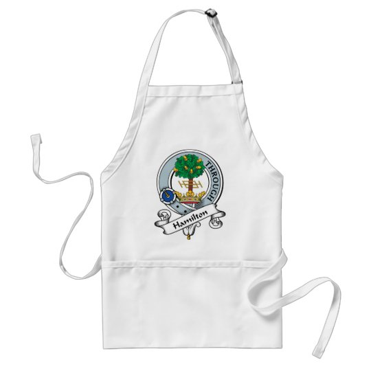 Hamilton Clan Badge Adult Apron