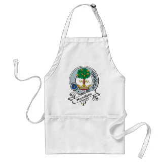 Hamilton Clan Badge Aprons