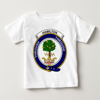 Hamilton Clan Badge Baby T-Shirt