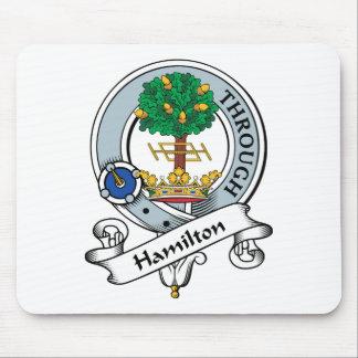 Hamilton Clan Badge Mouse Pad