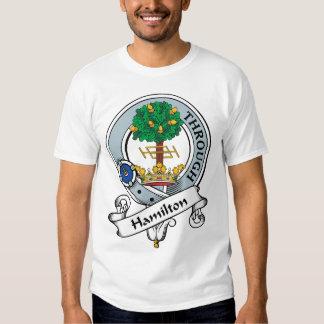 Hamilton Clan Badge Tees