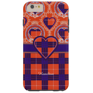 Hamilton clan Plaid Scottish tartan Tough iPhone 6 Plus Case