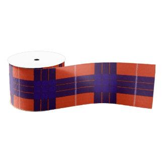 Hamilton clan Plaid Scottish tartan Blank Ribbon