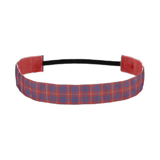 Hamilton Clan Tartan Plaid Head Band Elastic Headbands