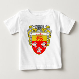 Hamilton Coat of Arms (Mantled) Baby T-Shirt
