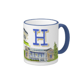 Hamilton college medley of buildings coffee mugs